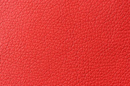 Red Artificial Leather Background Texture Stock Photo - 17357214
