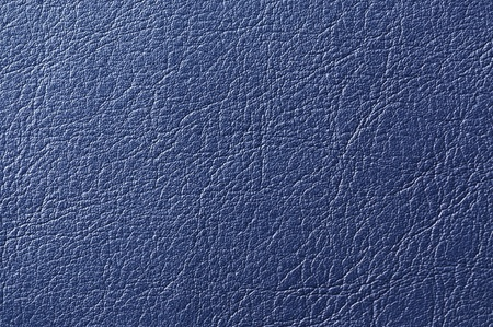 Dark Blue Artificial Leather Background Texture photo