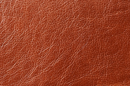 bumped: Brown Glossy Artificial Leather Texture