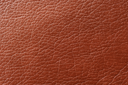 Brown Glossy Faux Leather Background Texture photo
