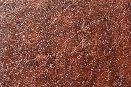 Brown Patterned Artificial Leather Texture 写真素材
