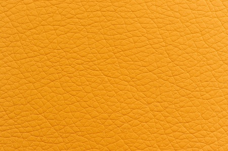 Bright Yellow Faux Leather Texture Stock Photo - 17609013