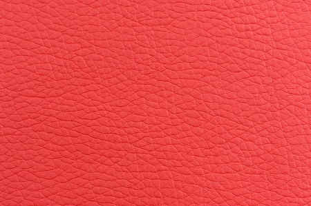 Matte Red Artificial Leather Texture photo