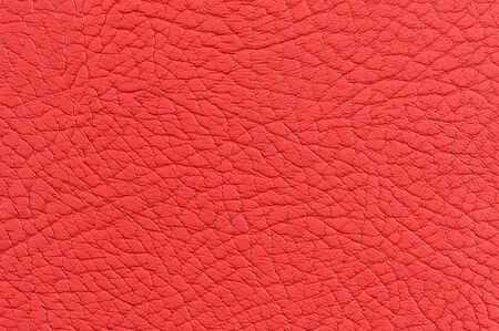 Red Leather Background Texture photo