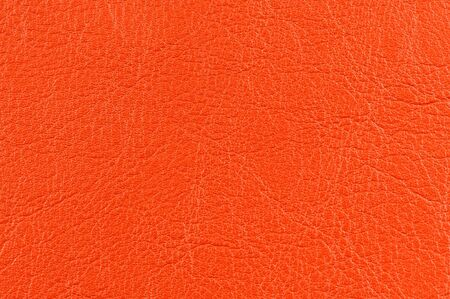 bumped: Bright Orange Leather Background Texture
