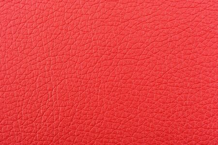 bumped: Red Artificial Leather Background Texture Stock Photo