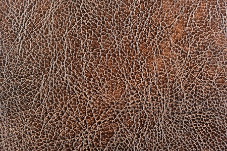 leatherette: Brown Glossy Patterned Leather Texture