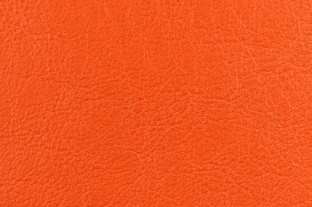 bumped: Bright Orange Artificial Leather Texture