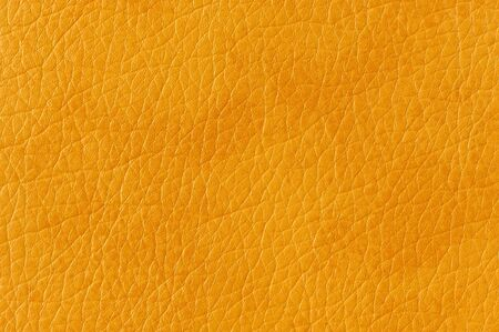 Dark Yellow Artificial Leather Background Texture Stock Photo - 17609050