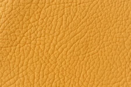 Matte Yellow Patterned Faux Leather Background Texture Stock Photo - 17609044