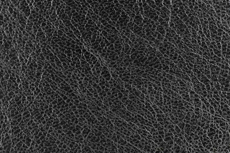 black leather texture: Black Glossy Leather Background Texture Stock Photo