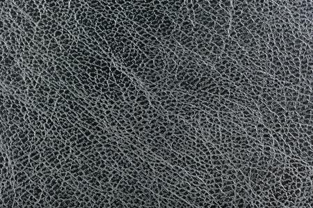 Dark Grey Glossy Leather Background Texture Stock Photo - 17609071