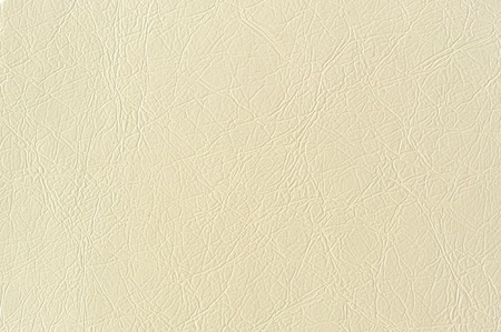 leatherette: Ivory Artificial Leather Background Texture