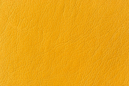 Yellow Artificial Leather Background Texture Stock Photo - 17609043