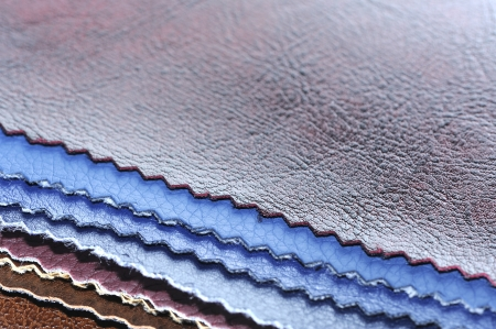 Artificial Leather Swatches Stock Photo
