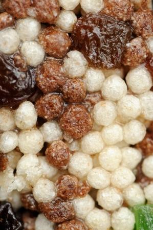 barre de c�r�ales: Macro Cereal Bar Banque d'images