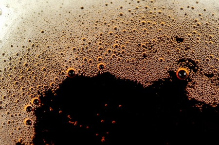fizzy: Fizzy Soft Drink with Bubbles Stock Photo
