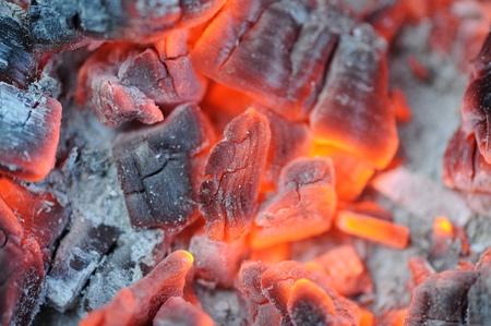 embers: Red Hot Burning Coals