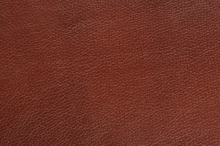 leatherette: Brown Glossy Faux Leather Background Texture