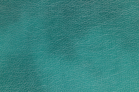 leatherette: Aquamarine  Sea Green  Glossy Artificial Leather Background Texture