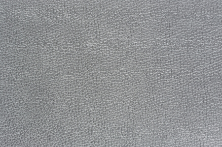 leatherette: Silver Artificial Leather Background Texture Stock Photo