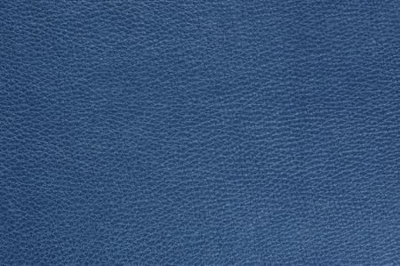 青い光沢のある人工皮革背景テクスチャ