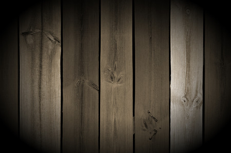 duckboards: Vintage Wood Planks with Spotlight