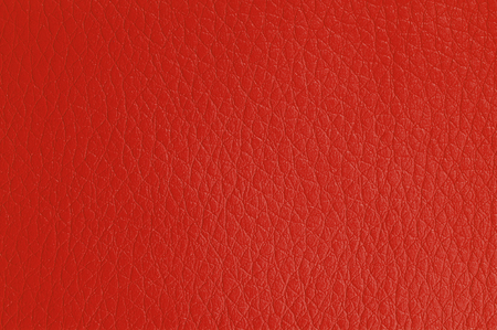 Red Artificial Leather Background Texture photo
