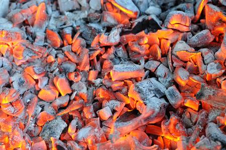 embers: Glowing Hot Wood Embers