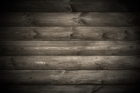 Spotlight on Dark Wooden Wall photo