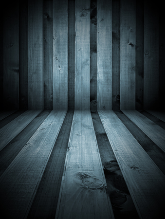 A black and white wooden room as a background photo