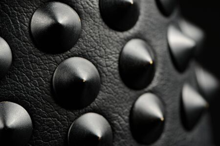 spiked: Black Leather Spikes