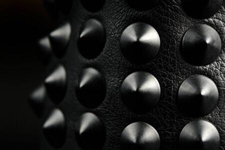 studs: Black Leather Spikes