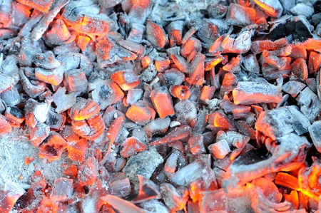 Glowing Hot Embers photo