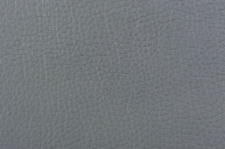 leatherette: Gray Matte Patterned Artificial Leather Texture Stock Photo