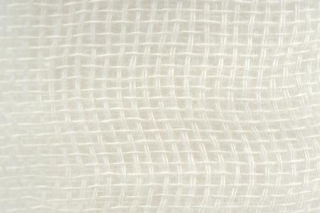 gauze: Gauze Bandage Texture Macro Stock Photo