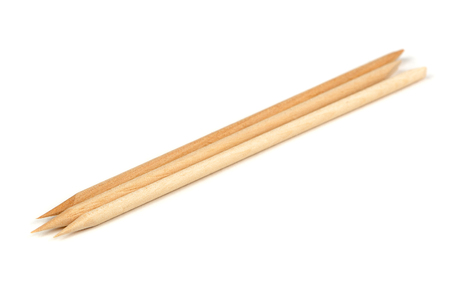 Orange Wood Sticks (Cuticle Pushers) for Manicure