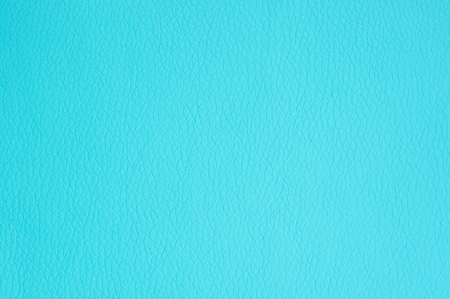 Turquoise Artificial Leather Background Texture Close-Up photo