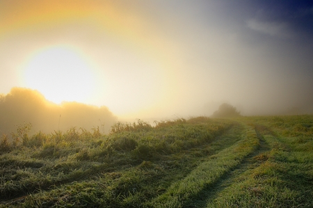 Sunrise in the Countryside photo
