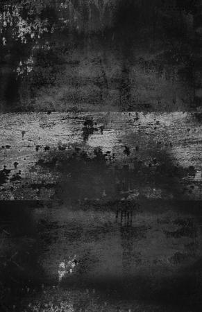 scratched metal: Dark Grungy Background