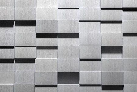 High Tech Fondo de aluminio Foto de archivo