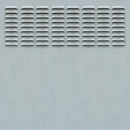 air diffuser: Metal Panel with Ventilation Grill
