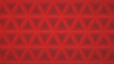 Abstract Red Geometric Background photo