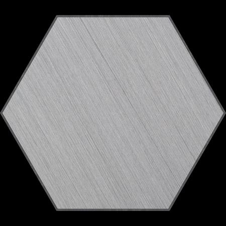 Hexagonal Aluminum Bevelled Panel  photo