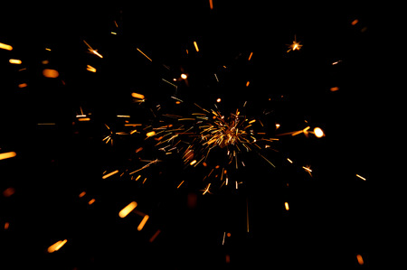 sparks: Glowing Flow of Sparks