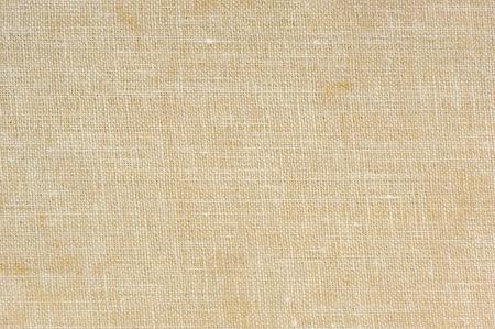 Natural Sackcloth Texture Macro Archivio Fotografico