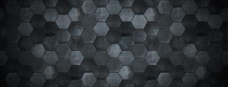 Donkere betegelde achtergrond met Spotlight Website Head