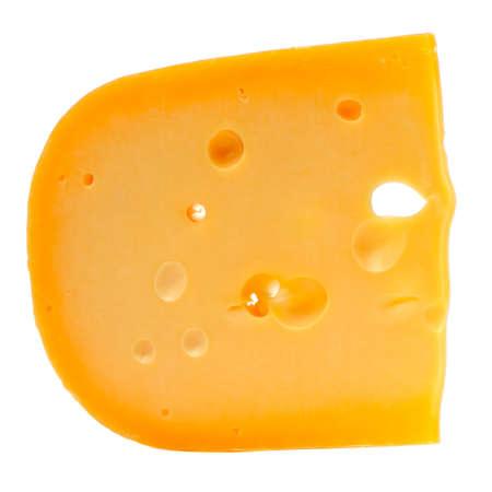 kulinarne: Szwajcarskiego sera samodzielnie na białym tle
