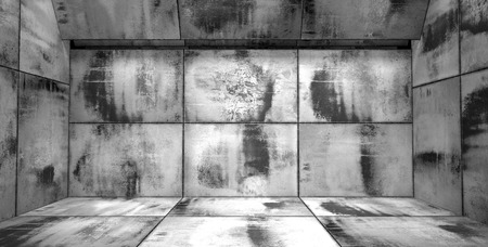 metal grunge: Grungy Black and White Room