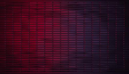 purple metal: Realistic Dark Red to Purple Gradient Metal Background (3D Illustration) Stock Photo